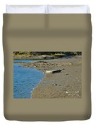 Beached Dinghy Duvet Cover