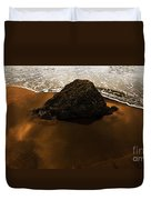 Beaches Of Gold Duvet Cover