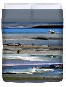 Beaches Duvet Cover