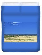 Beachouses As Seen From Jockey's Ridge State Park Duvet Cover