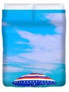 Beachtime Usa Duvet Cover