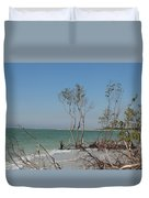 Fort De Soto Beachview Duvet Cover
