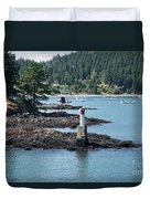 Beacon At Snug Cove Duvet Cover