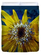 Beaded Flower Duvet Cover