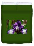 Beaded Iris Duvet Cover