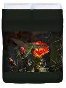 Beak Deep In Nectar  Duvet Cover