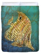 Beaked Butterflyfish Duvet Cover