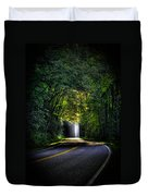 Beam Me Up Great Smoky Mountains Tennessee Mountains Art Duvet Cover