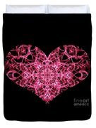 Beaming Heart Duvet Cover