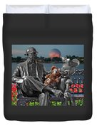 Bear And His Mentors Walt Disney World 05 Duvet Cover