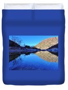 Bear Canyon Pool Duvet Cover