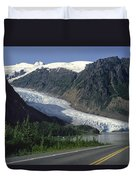 Bear Glacier Duvet Cover