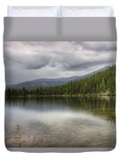 Bear Lake Duvet Cover