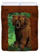 Bear Naked Duvet Cover
