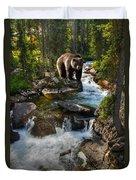 Bear Necessity Duvet Cover