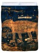 Bear Wall Duvet Cover