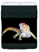 Bearded Dragon Duvet Cover