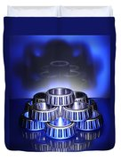 Bearings In Blue Duvet Cover