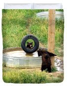 Bears At Play Duvet Cover
