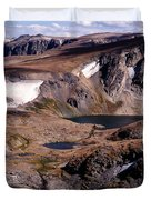 Beartooth Highway Cirques Duvet Cover