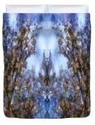 Beast In The Sacred Forest Duvet Cover