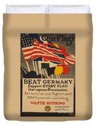 Beat Germany Duvet Cover by Adolph Treidler