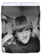 Beatle Haircuts Get Reprieve Duvet Cover