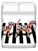 Beatles Dogs Duvet Cover by Mark Ashkenazi