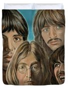 Beatles The Fab Four Duvet Cover