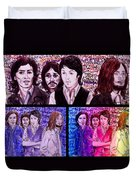 Rainbow Beatles Design Trio Duvet Cover