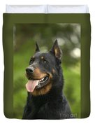 Beauceron Dog Duvet Cover