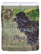 Beaujolais Nouveau 2 Duvet Cover by Debbie DeWitt