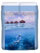 Beautiful Above And Below 2 Duvet Cover