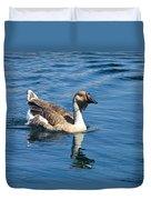 Beautiful African Brown Goose Duvet Cover