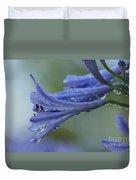 Beautiful  Agapanthus Duvet Cover