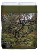 Beautiful And Bare Japanese Lace-leaf Maple Tree Duvet Cover
