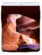 Beautiful Antelope Canyon Colors Duvet Cover