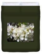 Beautiful Apple Blossoms Duvet Cover