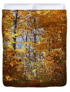 Beautiful Autumn Sanctuary Duvet Cover