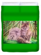 Beautiful Because Fox Alive Duvet Cover
