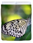 Beautiful Black N White Rice Paper Butterfly Duvet Cover