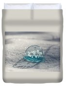 Beautiful Blue Bubble Duvet Cover