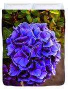 Beautiful Blue Hydrangea Duvet Cover