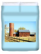 Beautiful Brick Silo Duvet Cover