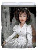 Beautiful Bride Duvet Cover