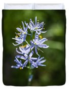 Beautiful Camas Lily In Idaho Duvet Cover