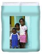 Beautiful Children Duvet Cover