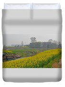 Beautiful China's Rural Scenery Duvet Cover