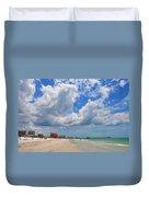 Beautiful Clearwater Beach Duvet Cover