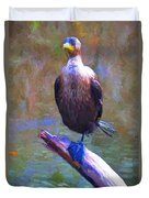 Beautiful Cormorant Duvet Cover